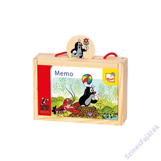 Kisvakondos memória játék dobozban