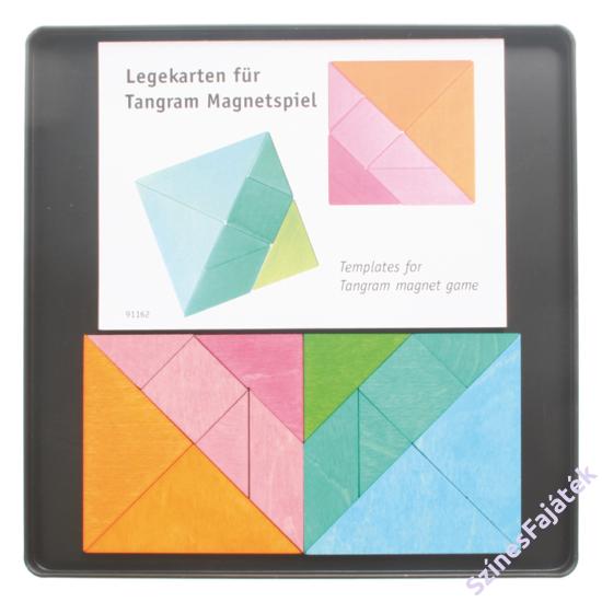 Tangram készlet - fejlesztő játék