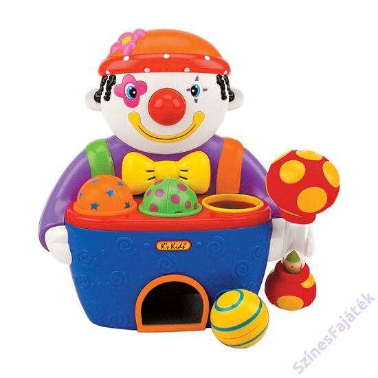K's Kids zenélő labdaevő bohóc