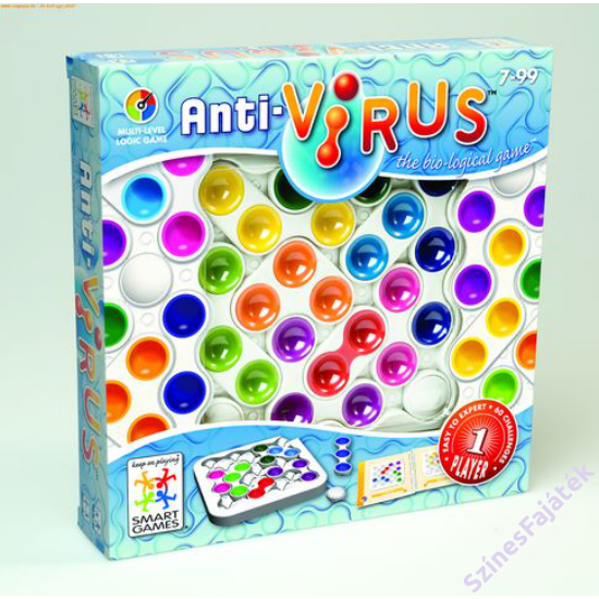 Antivírus - logikai játék- smart games