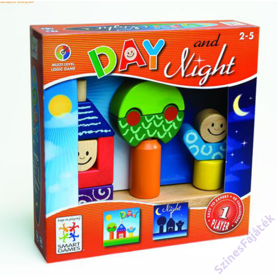 Nappal és éjszaka - logikai játék- smart games