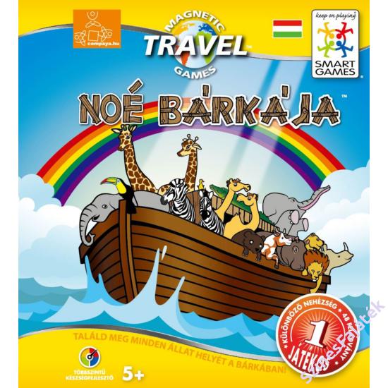 Noé bárkája - mágneses logikai játék - smart games-SG14815-182