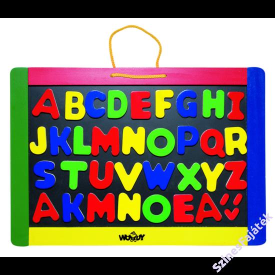 tábla betűkkel, fajáték