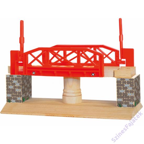 forgatható vasúti híd favonathoz