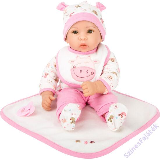 Élethű játék baba Hanna