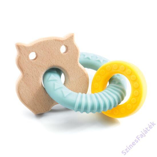 fa babajáték - baba rágóka - - Bagoly