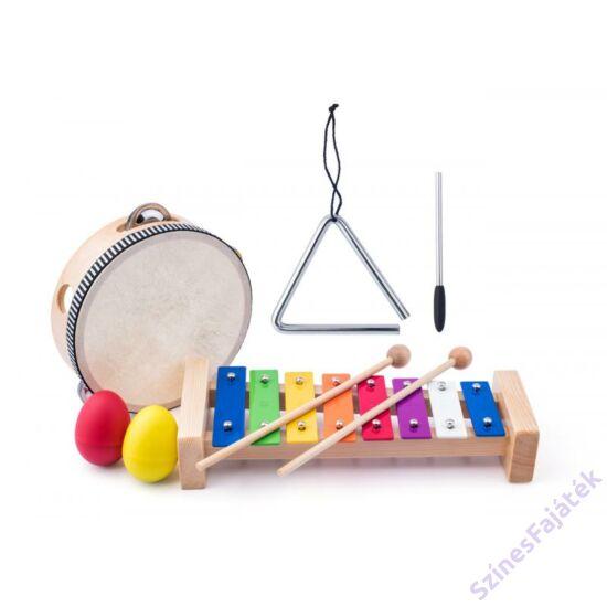 Játék fa hangszer készlet