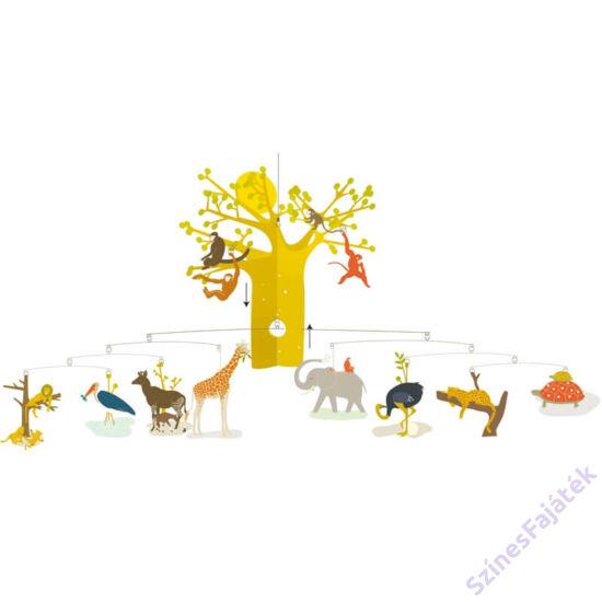 Djeco függődísz - gyerekszoba dekor   Afrikai szavanna