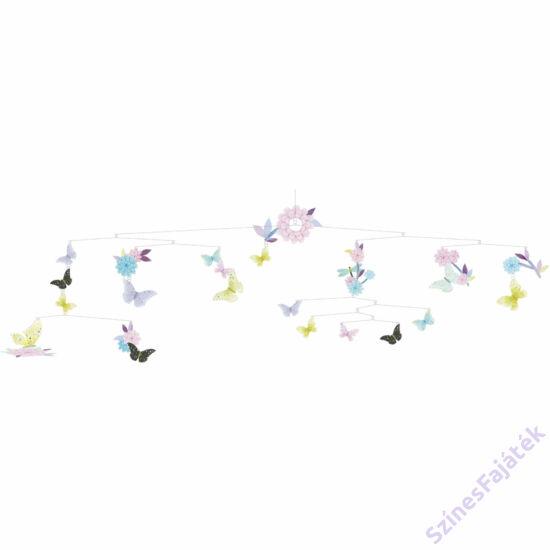 Djeco függődísz - gyerekszoba dekor  - Sok-sok pillangó