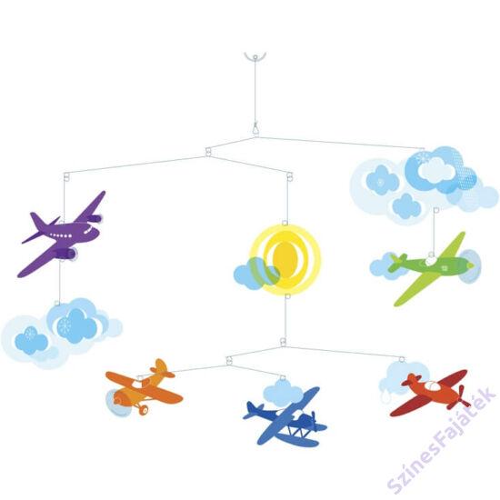 Djeco függődísz - gyerekszoba dekor - Repülők