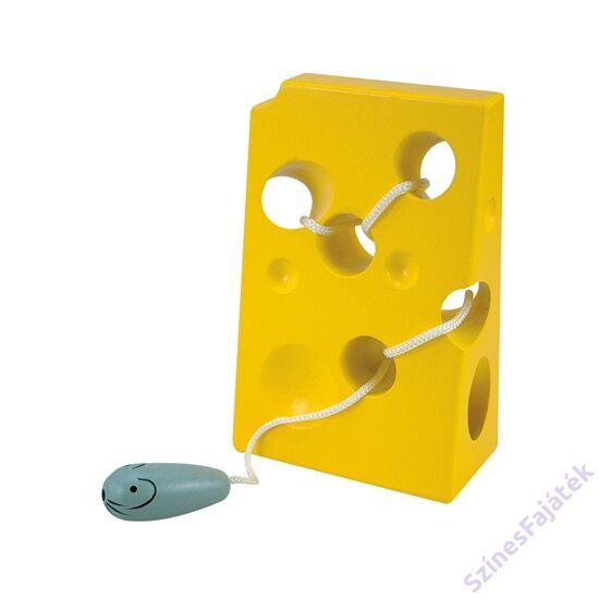 füzögetős sajt egérrel
