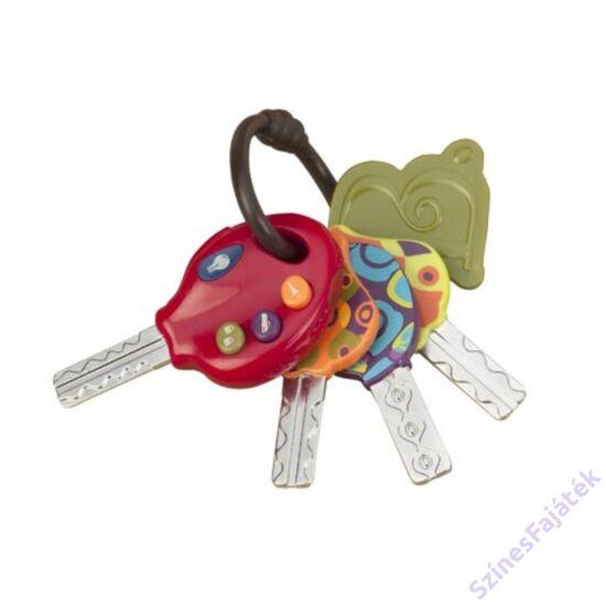 játék kulcscsomó hanggal - babáknak