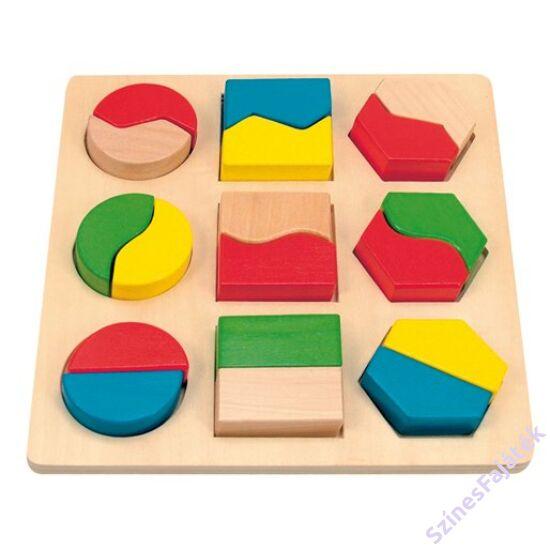 Montessori játék - formakirakó fajáték
