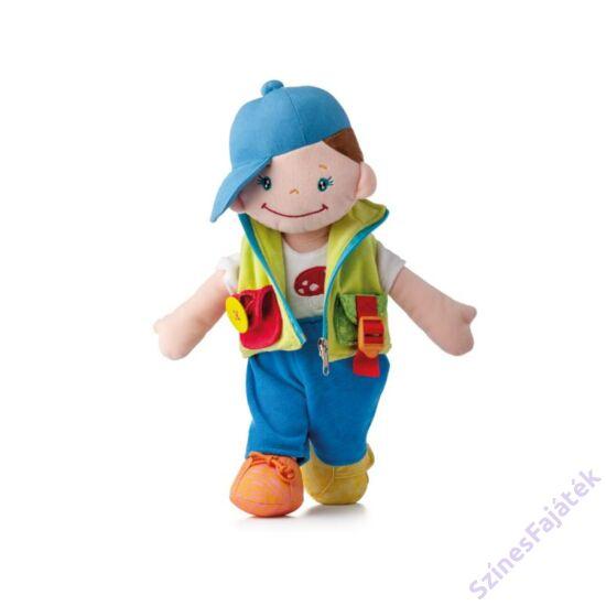 öltöztethető rongybaba - kisfiú