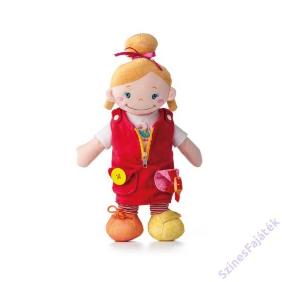 öltöztethető rongybaba - kislány
