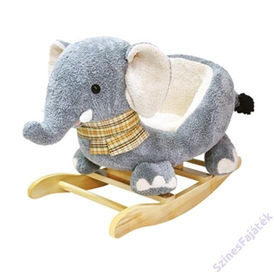 plüss hintaló elefánt