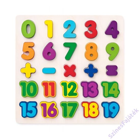 szám puzzle_fa kirakó_fajáték_90069
