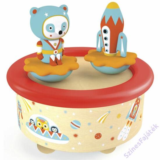 Zenedoboz - zenélő játék babáknak - csillagfény